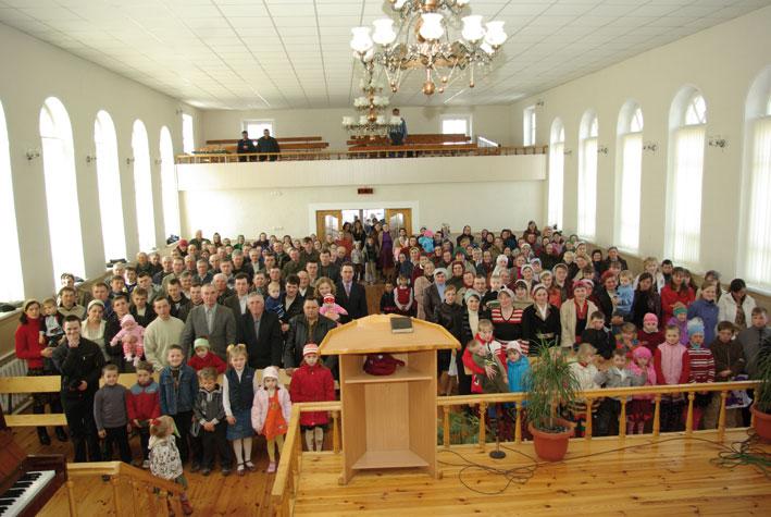 Дом молитвы в д. Рубель, Столинский район