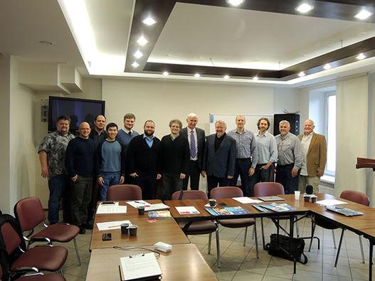 Встреча хрисианских радиослужителей в Москве