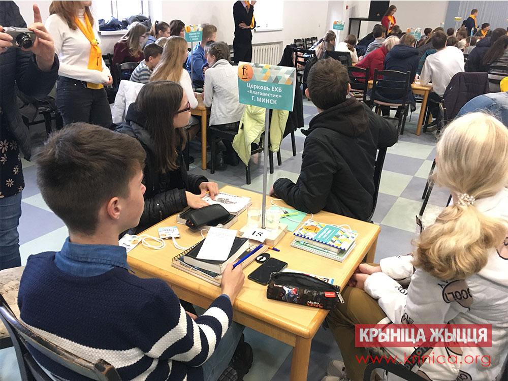 Библейская викторина ДОЦ Жемчужинка Кобрин