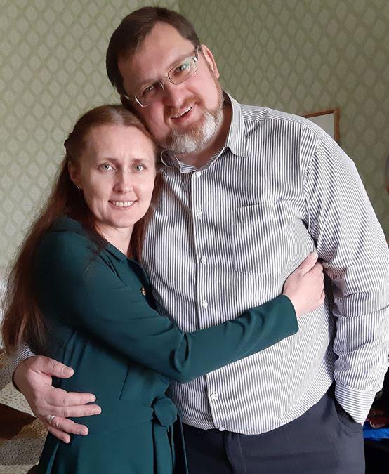 Владимир и Жанна Тишковы Мозырь