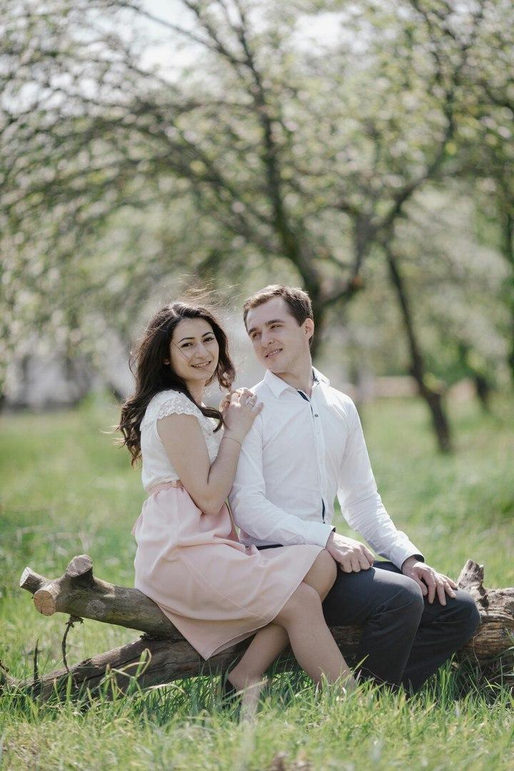 Аза Штык с мужем Вечеславом