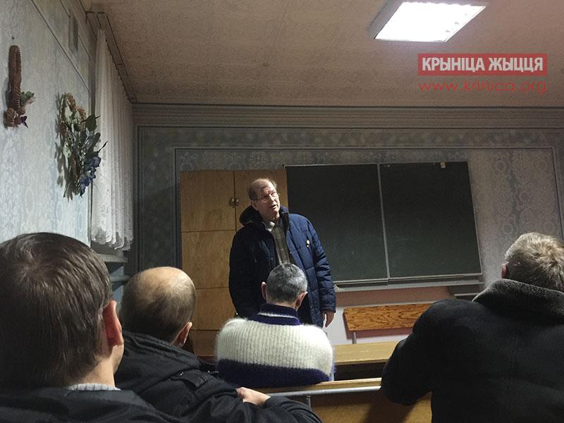 Встреча пасторов Кобринского района