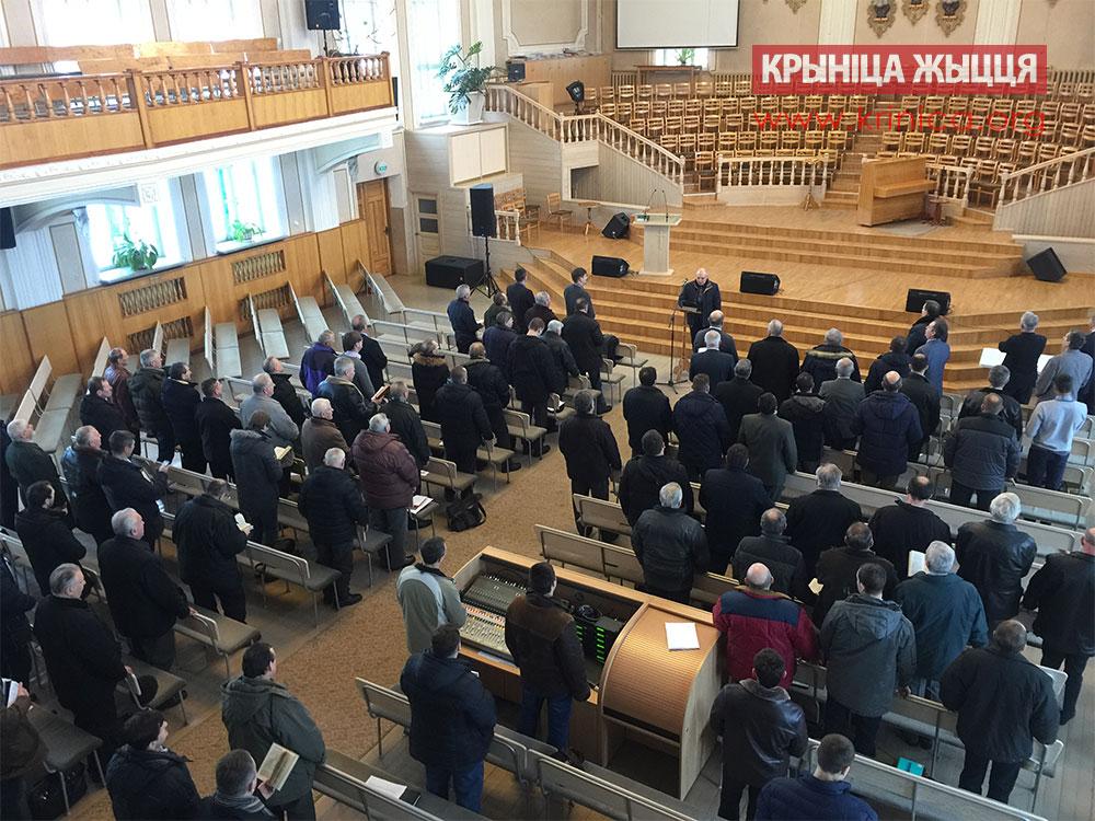 Съезд церквей ЕХБ Брестской области