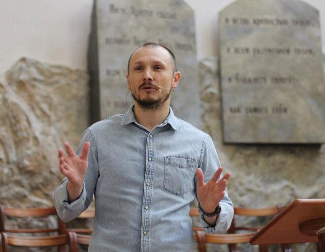 Сергей Заугольников молодежная конференция в Гродно