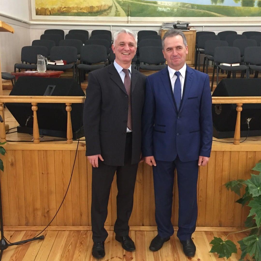 Пастор церкви баптистов в д. Рубель Филонович Анатолий