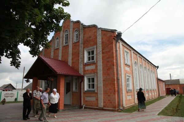 Дом молитвы в д. Рубель Бресткая область