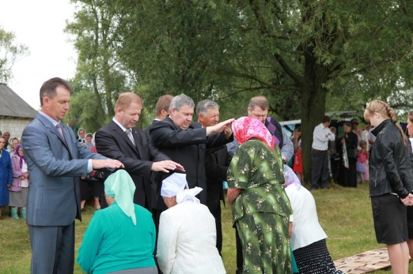 Деревня Рубель, баптисты
