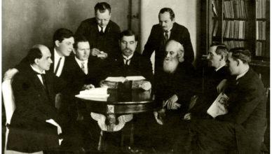 Члены совета Христиан в Ленинграде