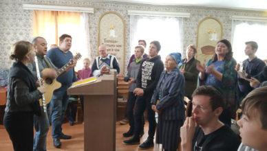 Мессианские евреи в г. Круглое