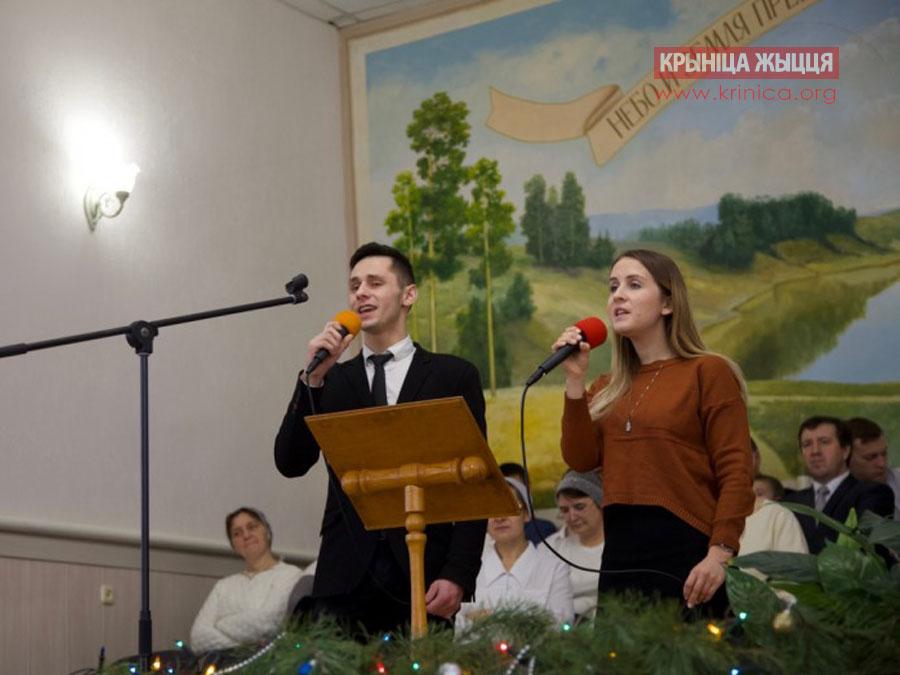 Андрей и Елизавета из Гродно при посещении церкви в д. Рубель