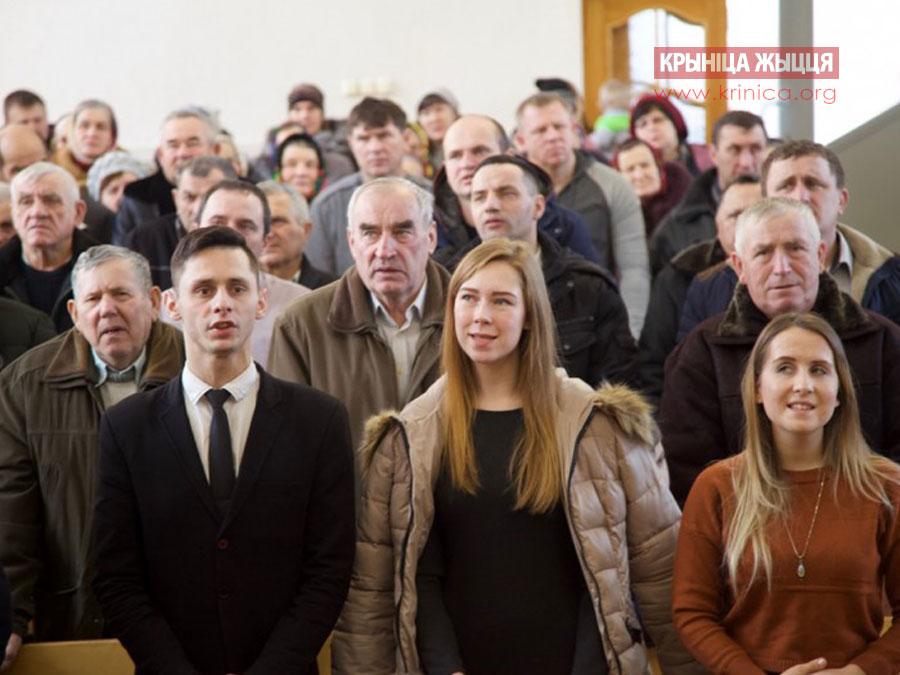 Церковь ЕХБ в д.Рубель