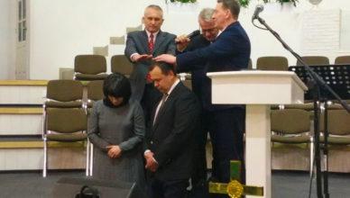 рукоположен на диаконское служение Олег Клютченя