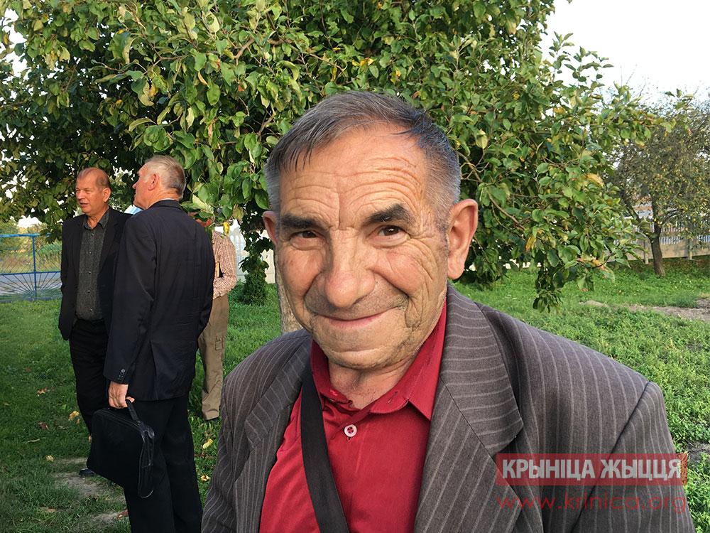 Василий Тарасюк, пастор д. Леликово