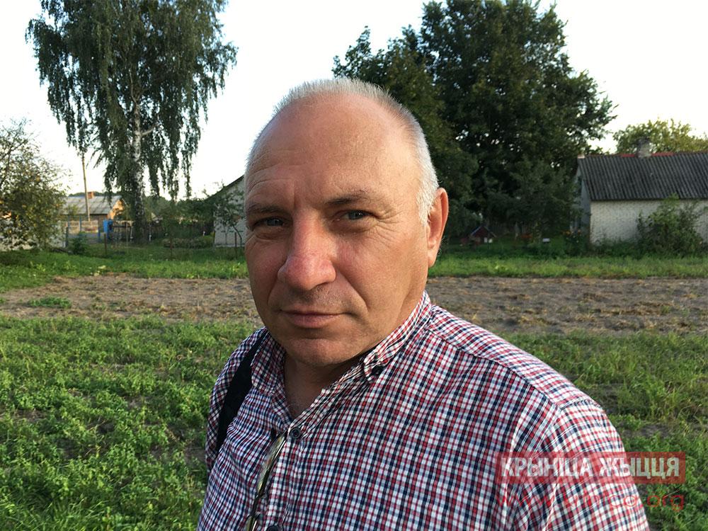 Николай Назарук, пастор д. Пески