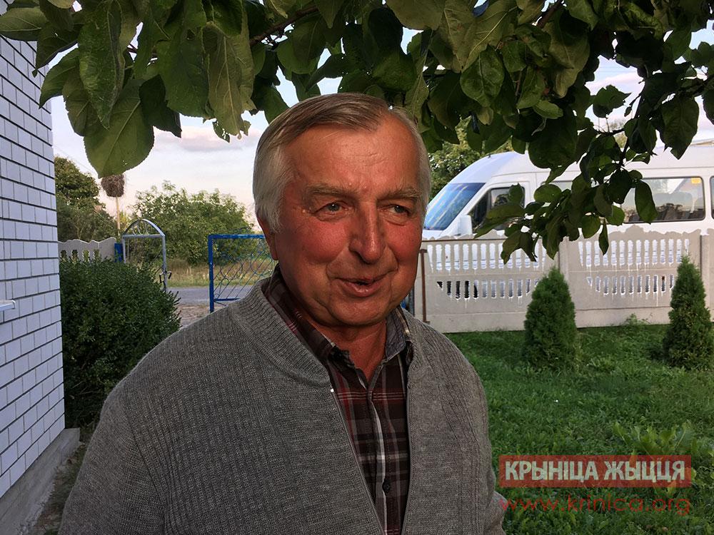 Пастор церкви ЕХБ д. Глинянки Николай Давидюк
